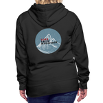 Love Snow Mountain - Women's Premium Hoodie - black