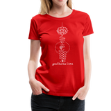 Good Karma Lives - Women's Premium T-Shirt - red