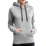 Good Vibes Everyday All Day  - Women's Premium Hoodie - heather gray