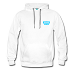 Good Vibes (Cool Blue) - Men's Premium Hoodie - white