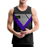 Happy Script - Men's Premium Tank - black