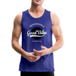Good Vibes Giver - Men's Premium Tank - royal blue