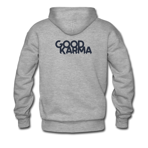 Good Karma - Men's Premium Hoodie - heather gray