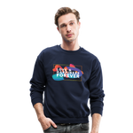 Love & Happiness Forever - Crewneck Sweatshirt - navy
