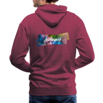 Happy Splash - Men's Premium Hoodie - burgundy