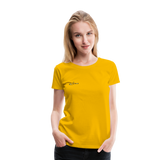 Happy Outdoors - Women's Premium T-Shirt - sun yellow