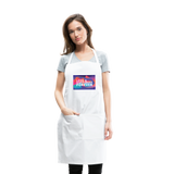 Love & Happiness Forever - Adjustable Apron - white