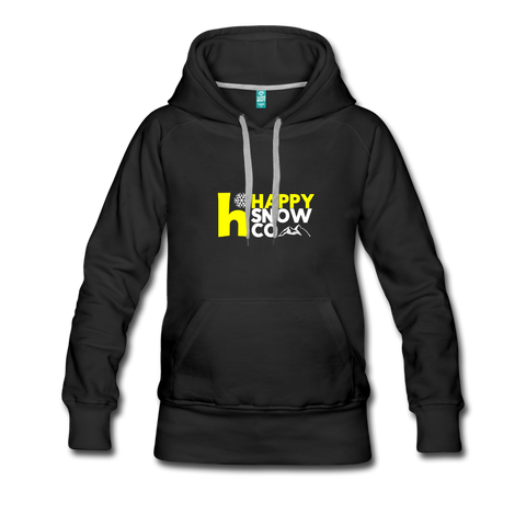 The Happy - Women's Premium Hoodie - black