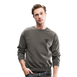 Happy One - Crewneck Sweatshirt - asphalt gray
