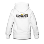 Happy Outdoors - Women's Premium Hoodie - white