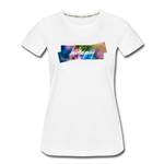 Happy Splash - Women's Premium Organic T-Shirt - white