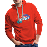 Love & Happiness Forever - Men's Premium Hoodie - red