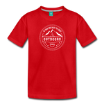 Great Outdoors - Kids' Premium T-Shirt - red