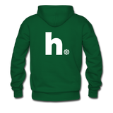 Snow - Men's Hoodie - forest green