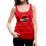 Good Vibes Giver - Women's Premium Tank Top - red