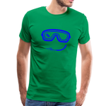 Happy (Goggles) - Men's Premium T-Shirt - kelly green