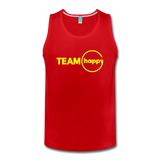 Team Happy - Men's Premium Tank - red