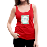 Good Vibes (Summer) - Women's Premium Tank Top - red