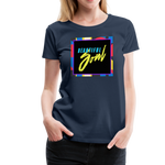 Beautiful Soul - Women's Premium T-Shirt - navy