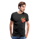 Happy Bloom - Premium T-Shirt - black