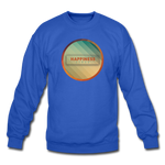 Happiness Lives - Crewneck Sweatshirt - royal blue