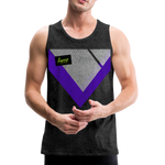 Happy Script - Men's Premium Tank - charcoal gray