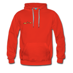 Happy Outdoors - Men's Premium Hoodie - red