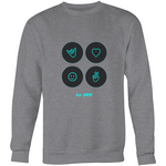 Icons - Crew Neck Jumper Sweatshirt
