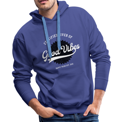 Good Vibes Giver - Men's Premium Hoodie - royalblue