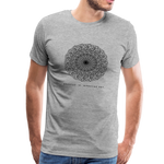 Breathe - Men's Premium T-Shirt - heather gray