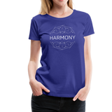 Harmony - Women's Premium T-Shirt - royal blue
