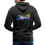 Happy Splash - Men's Premium Hoodie - black