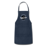 Good Vibes Giver - Adjustable Apron - navy