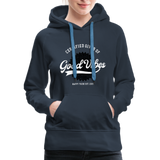Good Vibes Giver - Women's Premium Hoodie - navy