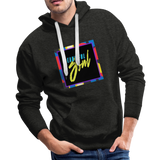 Beautiful Soul - Men's Premium Hoodie - charcoal gray