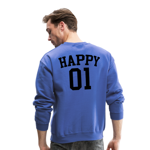 Happy One - Crewneck Sweatshirt - royal blue