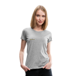 Happy Outdoors - Women's Premium T-Shirt - heather gray