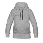 Happy Outdoors - Women's Premium Hoodie - heather gray