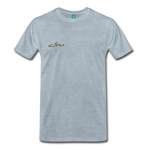 Happy Outdoors - Men's Premium T-Shirt - heather ice blue