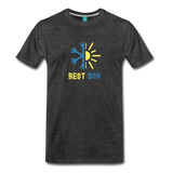 Best Day - Men's Premium T-Shirt - charcoal gray