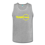 Team Happy - Men's Premium Tank - heather gray