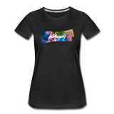Happy Splash - Women's Premium Organic T-Shirt - black