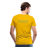 Happy Bloom - Premium T-Shirt - sun yellow