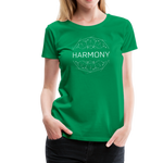 Harmony - Women's Premium T-Shirt - kelly green