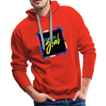Beautiful Soul - Men's Premium Hoodie - red