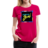 Beautiful Soul - Women's Premium T-Shirt - dark pink