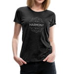 Harmony - Women's Premium T-Shirt - charcoal gray