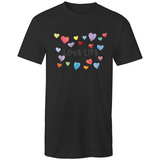 Love Life Hearts - Men's Tall Tee T-Shirt