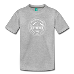 Great Outdoors - Kids' Premium T-Shirt - heather gray