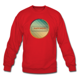 Happiness Lives - Crewneck Sweatshirt - red